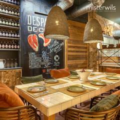La Chancha y los 20, nuevo proyecto en el centro de Cadiz: Bodegas de estilo  de MisterWils - Importadores de Mobiliario y departamento de Proyectos., Moderno Madera Acabado en madera