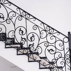 Realizacja balustrady 7: styl , w kategorii Schody zaprojektowany przez Armet