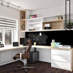 مكتب عمل أو دراسة تنفيذ Artlike , حداثي