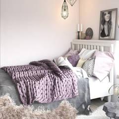 Дизайн проект Дуплексу в Скандинавському стилі в с. Гатне (137 кв. м):  Дитяча кімната by Artlike,