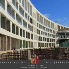 Hotel Meliá Rivera Maya : Villas de estilo  por CONSTRUSUR, Moderno Concreto