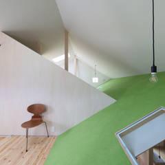 ひろばⅡ: JMA(Jiro Matsuura Architecture office)が手掛けた子供部屋です。