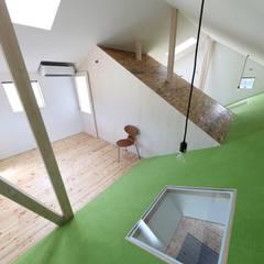 ひろばⅡ: JMA(Jiro Matsuura Architecture office)が手掛けた子供部屋です。,