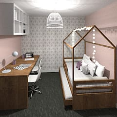 Girls Bedroom by Tiffany FAYOLLE,