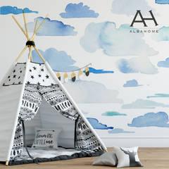 NUbes: Dormitorios de niños de estilo  por Alba Home