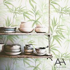 Bamboo: Cocinas de estilo  por Alba Home, Asiático