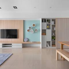 غرفة المعيشة تنفيذ 知域設計