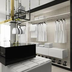 HEARTH AND HOME | II | Wnętrza domu: styl , w kategorii Garderoba zaprojektowany przez ARTDESIGN architektura wnętrz