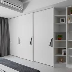 غرفة نوم تنفيذ 知域設計,