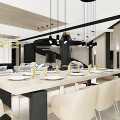 HEARTH AND HOME | I | Wnętrza domu: styl , w kategorii Jadalnia zaprojektowany przez ARTDESIGN architektura wnętrz,