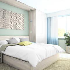 TYRMANDA (IN): styl , w kategorii Sypialnia zaprojektowany przez NA NO WO ARCHITEKCI