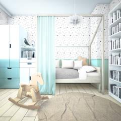 TYRMANDA (IN): styl , w kategorii Pokój dziecięcy zaprojektowany przez NA NO WO ARCHITEKCI