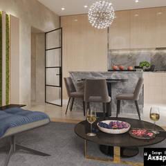 Dream house - дизайн дома в современном стиле : Кухонные блоки в . Автор – Дизайн студия 'Акварель'