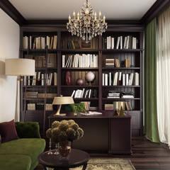 P_appartments: Рабочие кабинеты в . Автор – mlynchyk interiors