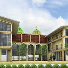 proyek exterior: Rumah oleh ARK-chitect.studio,
