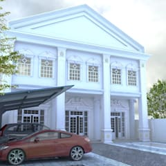 proyek exterior:  Rumah by ARK-chitect.studio