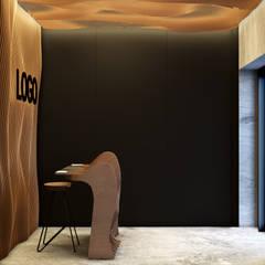 ATELIER: Офисы и магазины в . Автор – mlynchyk interiors