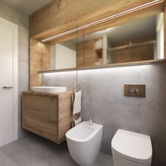 Bathroom by Desearq Studio _ architettura e interior design a Milano