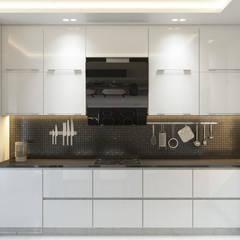 Квартира в ЖК «1147»: Встроенные кухни в . Автор – 'INTSTYLE',