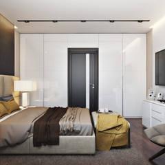Квартира в ЖК «1147»: Маленькие спальни в . Автор – 'INTSTYLE'
