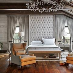 Residence: Спальни в . Автор – mlynchyk interiors ,