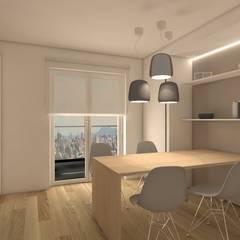 مطبخ ذو قطع مدمجة تنفيذ Silvana Barbato, StudioAtelier , حداثي