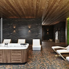 Spa by mlynchyk interiors