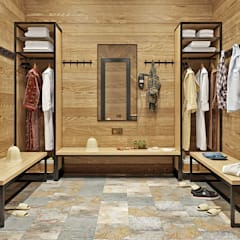 Dressing room by mlynchyk interiors