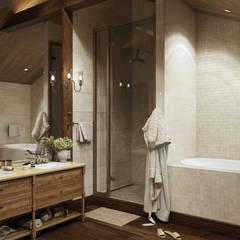 حمام تنفيذ mlynchyk interiors ,