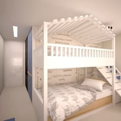 Boys Bedroom by ekovaleva.prodesign,