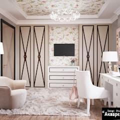 Girls Bedroom by Дизайн студия 'Акварель', Classic Wood Wood effect