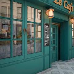 Le Cafe : Ресторации в . Автор – ekovaleva.prodesign, Классический