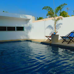 Garden Pool by CA ARQUITECTURA