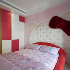 Girls Bedroom by 邑舍室內裝修設計工程有限公司