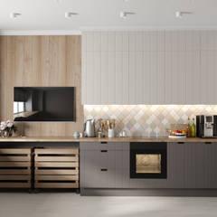 Кухня в скандинавском стиле: Кухни в . Автор – DesignNika,