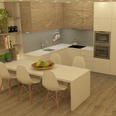 Small-kitchens by Casactiva Interiores