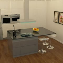 Small kitchens by Casactiva Interiores