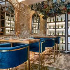 SENZA, una nueva propuesta gastronómica en el centro de Sevilla: Locales gastronómicos de estilo  de MisterWils - Decoración Vintage