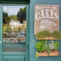 Galerías y espacios comerciales de estilo  por MisterWils - Decoración Vintage