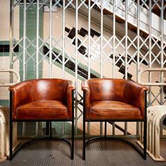 Burro Canaglia Bar&Resto el establecimiento de cocina italiana: Locales gastronómicos de estilo  de MisterWils - Decoración Vintage