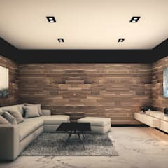 Media room by ARQUIFY, Modern