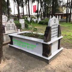 Taşcenter Acarlıoğlu Doğal Taş Dekorasyon – Mezar Modelleri, Taş Mezar, Mermer mezar, Mezar:  tarz Etkinlik merkezleri