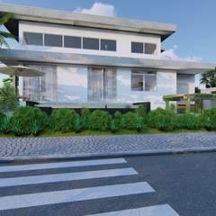 Condominios de estilo  por Marcela Martins Arquitetura