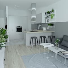 Small-kitchens by Moble.