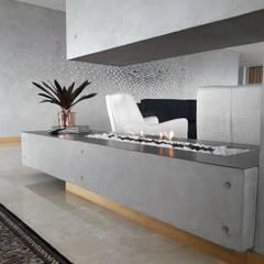 : Salas de estilo  por Hogares Inteligentes, Rústico