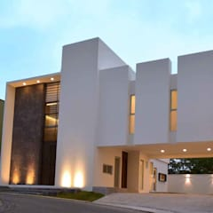 Rumah tinggal  oleh GRUPO WALL ARQUITECTURA Y DISEÑO SA DE CV