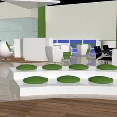 قاعة مؤتمرات تنفيذ Helicoide Estudio de Arquitectura,