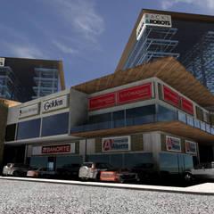 Shopping Centres by Helicoide Estudio de Arquitectura
