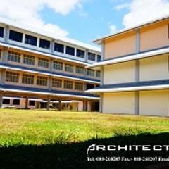 SEKOLAH MENENGAH KEBANGSAAN ENTILIBON:  Study/office by Chin Architect