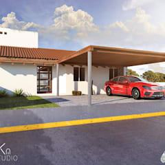 Renders (Visualización arquitectónica): Villas de estilo  por Arka Studio, Moderno